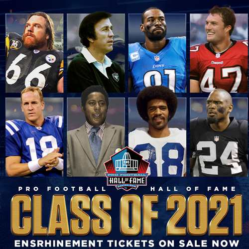HOF Class of 2021 Enshrinement