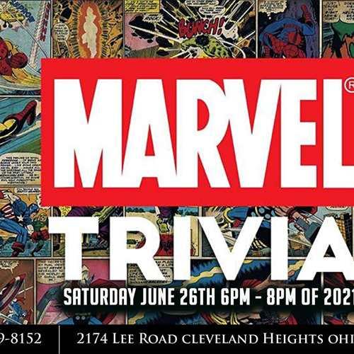 Marvel Group Exhibition / Trivia Night