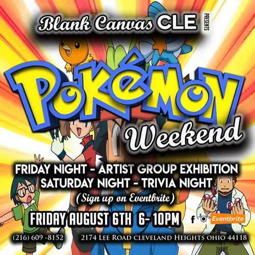 Pokemon Artist Group Exhibition