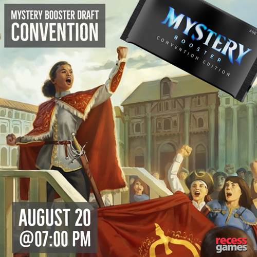 Recess Mystery Booster Draft Convention FNM