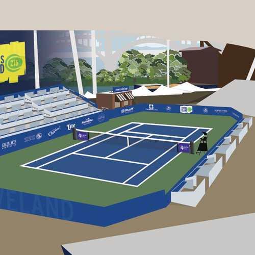 Cleveland Open WTA250 Tennis Tournament