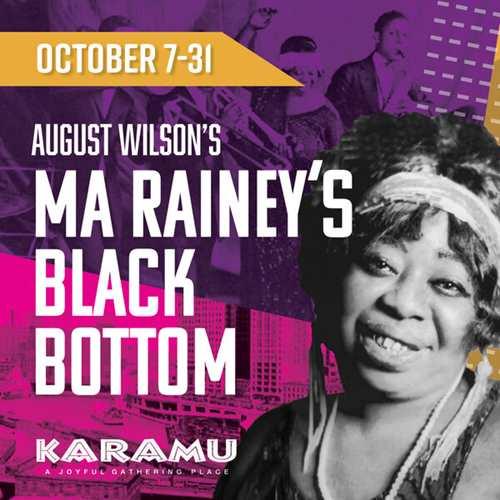 "August Wilson's ""Ma Rainey's Black Bottom"""