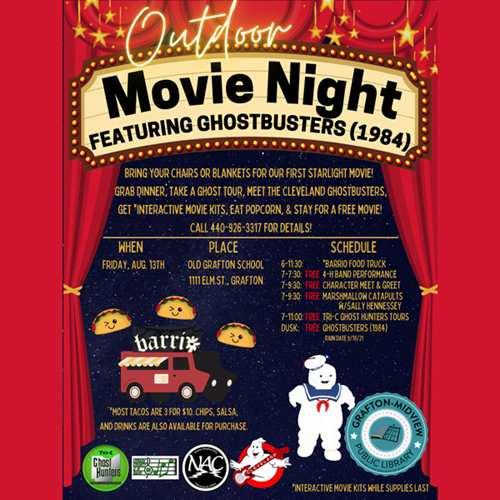 Grafton-Midview Public Library Starlight Movie Theater