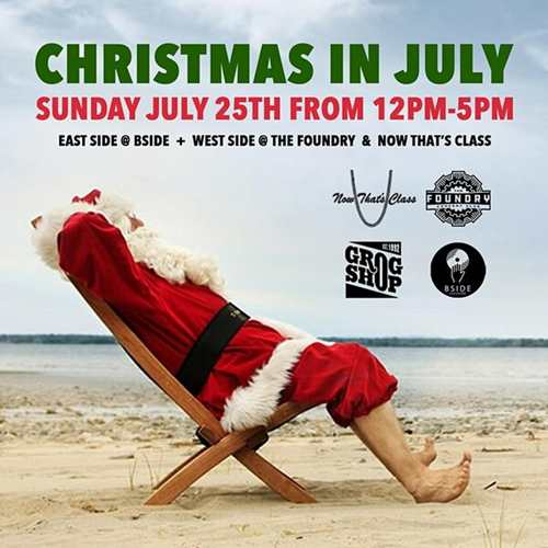 Christmas in July at The Foundry