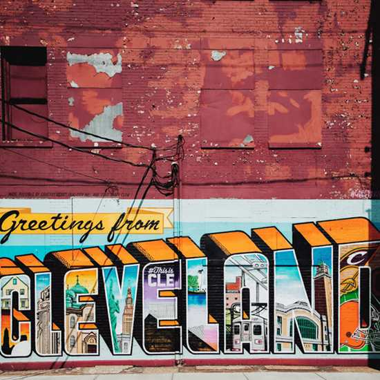 Bold and Bright Cleveland Murals