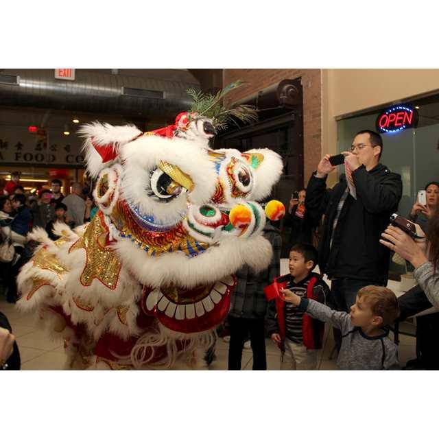 Lunar New Year Kwan Lion Dance