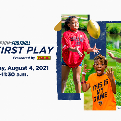 2021 Play Football First Play presented by Panini