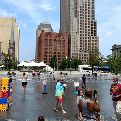 Summer Splash in The Square presented by the Cleveland Foundation