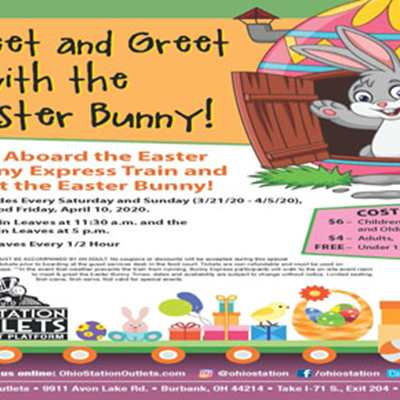 Postponed: Meet and Greet with the Easter Bunny!
