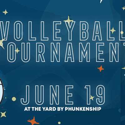 June 19th Volleyball Tournament