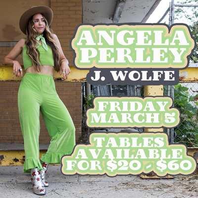 Angela Perley - J Wolfe