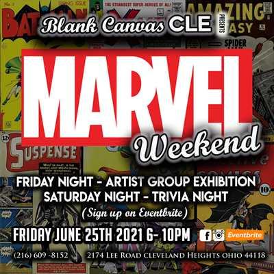 Marvel Artist Exhibition