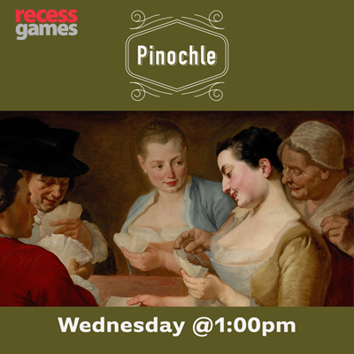 Pinochle Wednesday Afternoons