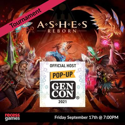 Ashes Reborn: Rise of the Phoenixborn Tournament Gen Con