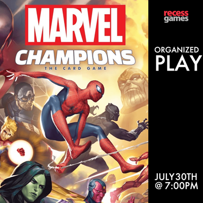 Marvel Champions Organized Play