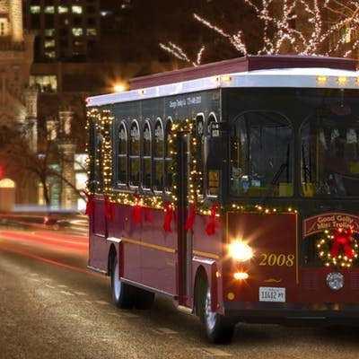 BYOB Holiday Lights Trolley