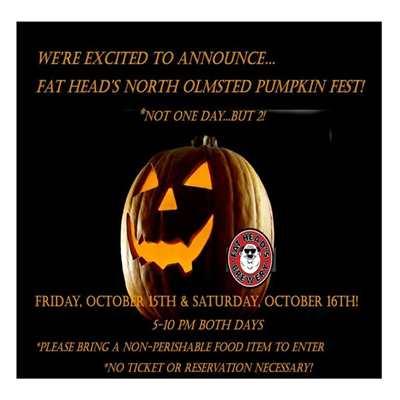 Fat Head's Pumpkin Fest