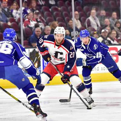 Cleveland Monsters vs. Syracuse Crunch