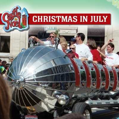 Christmas in July at Castle Noel