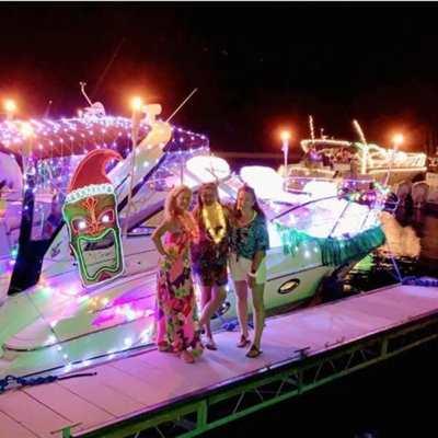 Whiskey Island Boat Club Parade of Lights