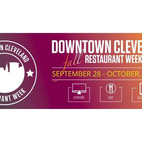 Downtown Cleveland Fall Restaurant Week