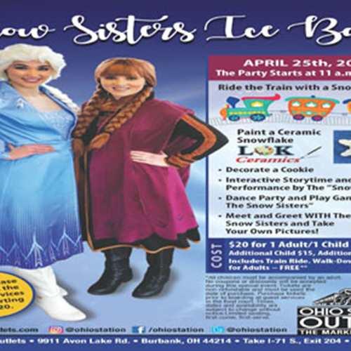 Snow Sisters Ice Ball