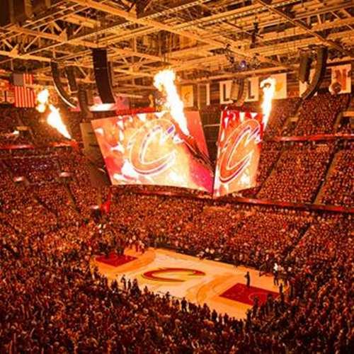 Cleveland Cavaliers VS. Detroit Pistons
