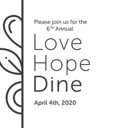 Canceled: Love. Hope. Dine. 2020