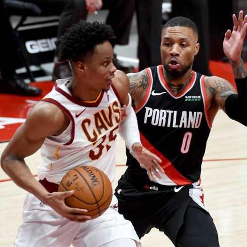 Cleveland Cavaliers vs, Portland Trailblazers