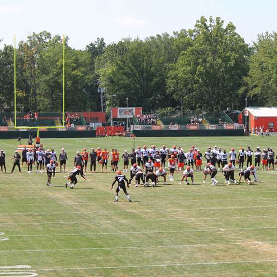 Hit Cleveland Browns Training Camp 2021 Like a Pro