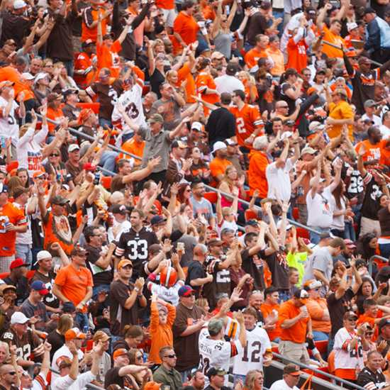 Immovable and Unstoppable: A History of Cleveland Football Fans