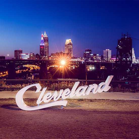 Cleveland Script Sign (Tremont)