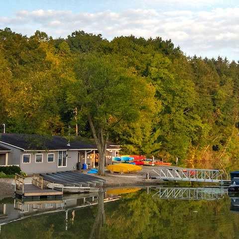 Cleveland Metroparks - Hinkley Lake Boat House