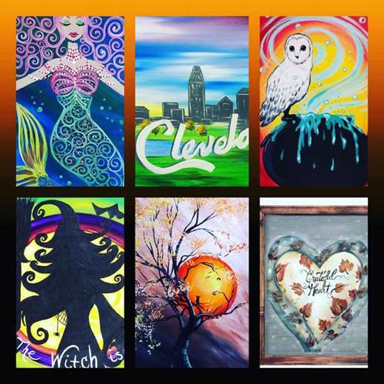 Paint and Sip Studio - Strongsville