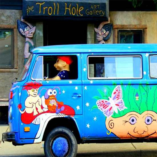 The Troll Hole Museum & Grumpy Troll Coffee