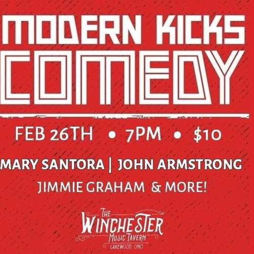 Modern Kicks Comedy at the Winchester