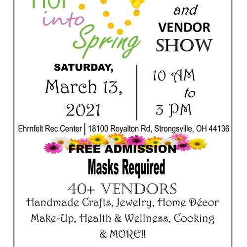 Hop into Spring Craft & Vendor Show