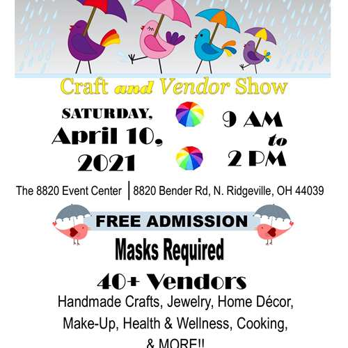 April Showers Craft & Vendor Show