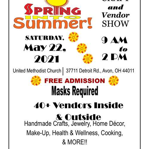 Spring Into Summer Craft & Vendor Show