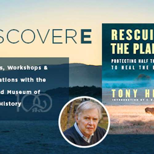 DiscoverE: Rescuing the Planet: An Evening with Tony Hiss