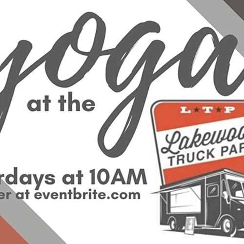 Yoga at the Lakewood Truck Park