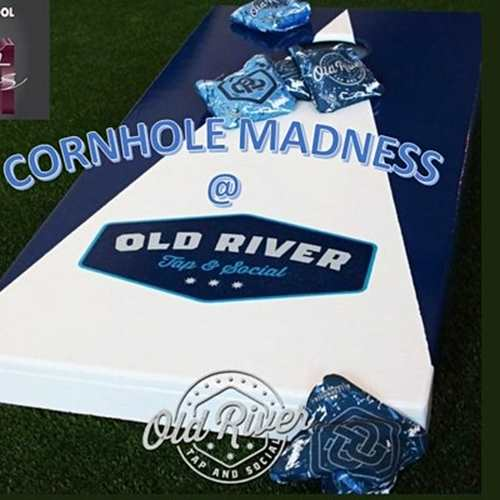 Cornhole Madness @ Old River Tap and Social