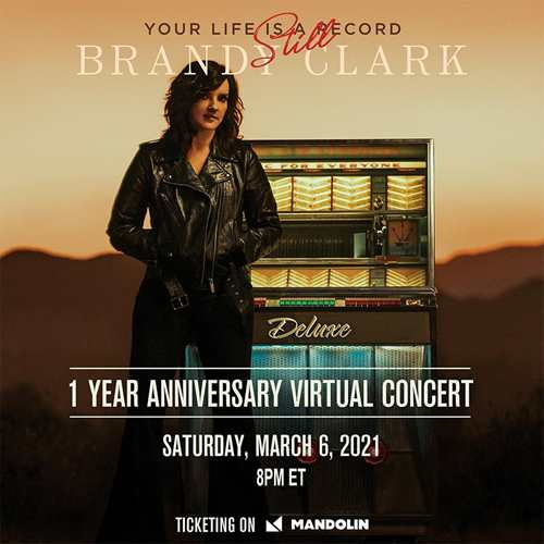"Brandy Clark - ""Your Life Is Still A Record"" Virtual Concert"