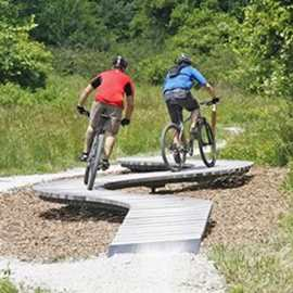 Hampton Hills Mountain Bike Area