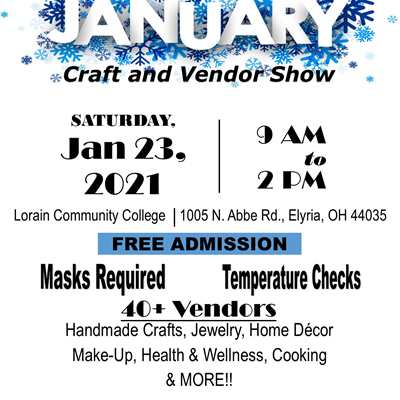 January Craft & Vendor Show