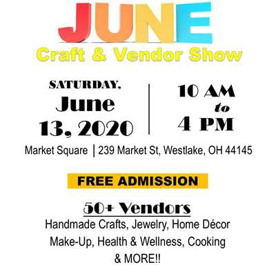 Crocker Park June Craft & Vendor Show