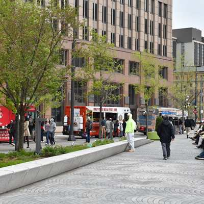 Food Truck Tuesday in The Square