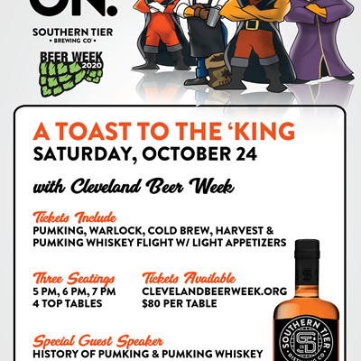 "Southern Tier's ""A Toast to the 'King"""