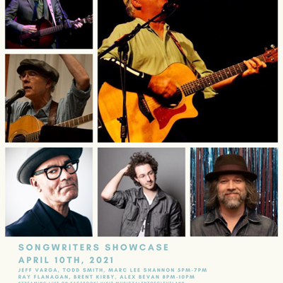 Songwriters Showcase Live Virtual Concert