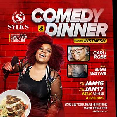 Comedy & Dinner with JUST NESH